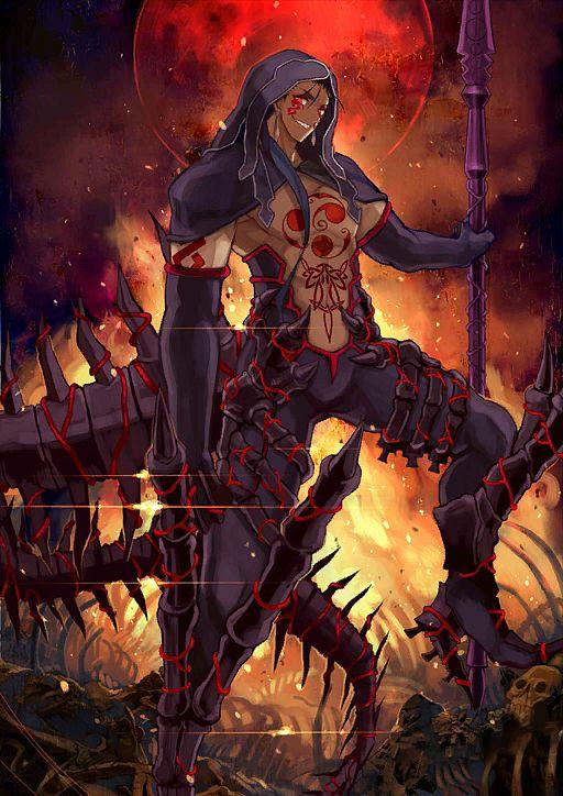 Berserker (Cú Chulainn Alter) - Lancer (Fate/stay night)