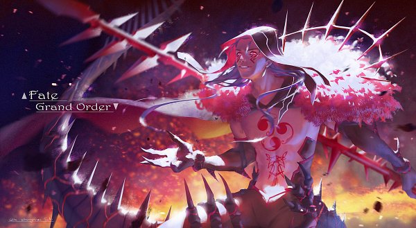 Tags: Anime, Pixiv Id 4371852, Fate/Grand Order, Lancer (Fate/stay night), Berserker (Cú Chulainn Alter)