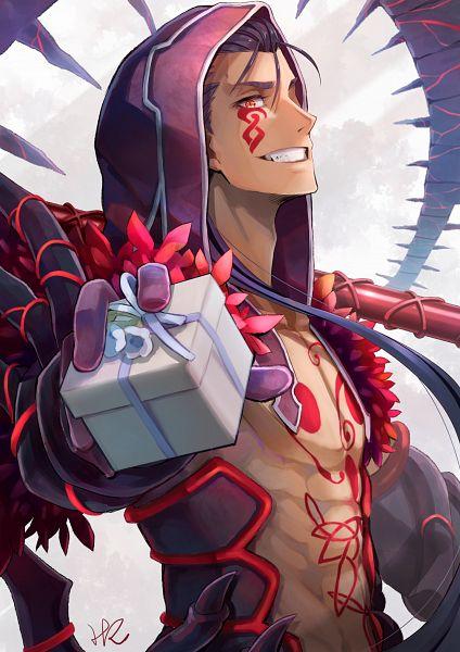 Tags: Anime, Hoshizaki Reita, Fate/Grand Order, Lancer (Fate/stay night), Berserker (Cú Chulainn Alter), White Day, Fanart From Pixiv, Pixiv, Fanart