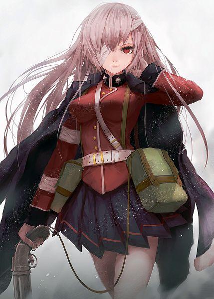 Tags: Anime, Sea (Lordofk), Fate/Grand Order, Berserker (Florence Nightingale), Mobile Wallpaper