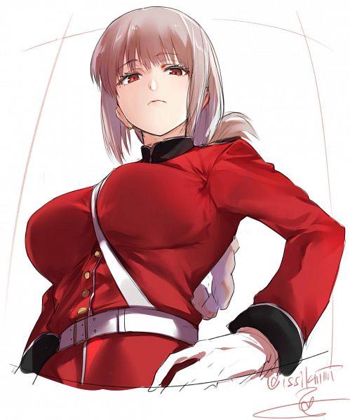 Tags: Anime, Isshiki (ffmania7), Fate/Grand Order, Berserker (Florence Nightingale), Pixiv, Fanart, Fanart From Pixiv