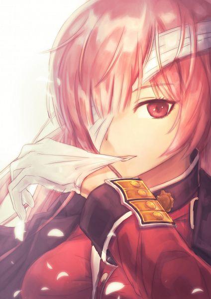Tags: Anime, Pixiv Id 12805455, Fate/Grand Order, Berserker (Florence Nightingale), Biting Gloves, Fanart, Fanart From Pixiv, Pixiv