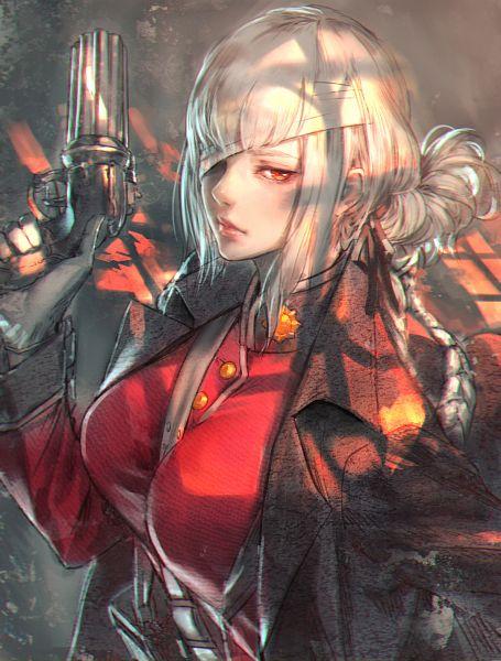 Tags: Anime, Kaburaki Yasutaka, Fate/Grand Order, Berserker (Florence Nightingale), Between Breasts, Pixiv, Fanart, Fanart From Pixiv
