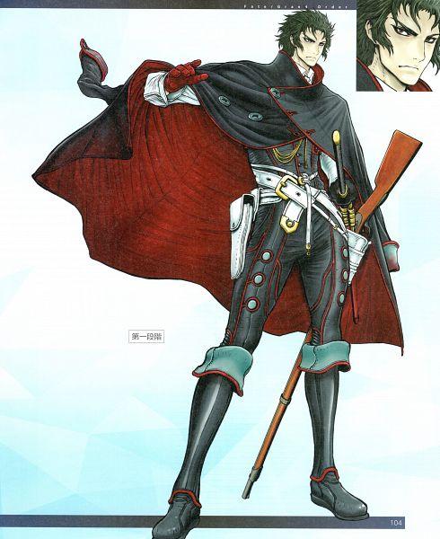 Tags: Anime, Yuuki Yogo, DELiGHTWORKS, Fate/Grand Order material V, Fate/Grand Order, Berserker (Hijikata Toshizou), Official Art, Scan