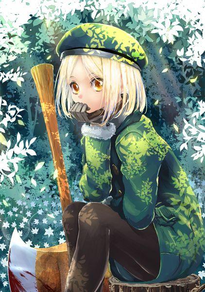 Tags: Anime, Kabutoyama, Fate/Grand Order, Berserker (Manga de Wakaru! FGO), Pixiv, Fanart, Fanart From Pixiv