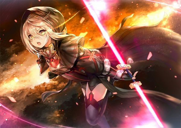 Tags: Anime, Pixiv Id 593960, Fate/Grand Order, Berserker (Mysterious Heroine X Alter), Saber (Fate/stay night)