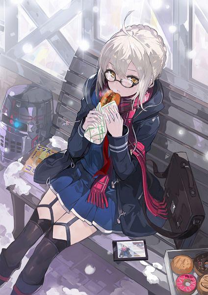 Tags: Anime, Alchemaniac, Fate/Grand Order, Berserker (Mysterious Heroine X Alter), Saber (Fate/stay night), Fanart From Pixiv, Pixiv, Fanart