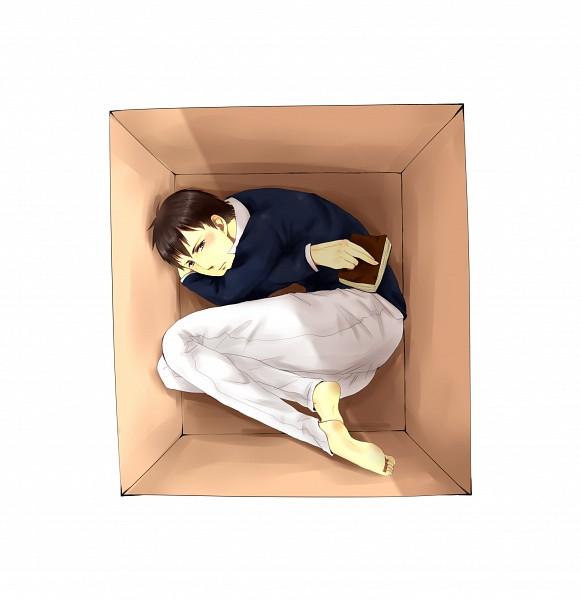 Tags: Anime, Pixiv Id 2027442, Attack on Titan, Bertholdt Fubar, In a Box, Pixiv, Fanart, Fanart From Pixiv, PNG Conversion
