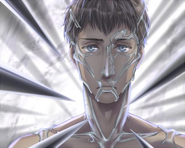 Tags: Anime, Pixiv Id 124166, Attack on Titan, Bertholdt Fubar, Fanart From Pixiv, Pixiv, Fanart