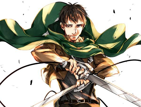 Tags: Anime, Pixiv Id 95487, Attack on Titan, Bertholdt Fubar, Green Cape, Pixiv, Fanart, Fanart From Pixiv