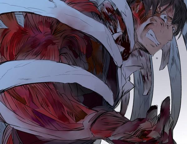 Tags: Anime, Umehara, Attack on Titan, Bertholdt Fubar, Fanart, Fanart From Pixiv, Pixiv