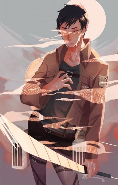 Tags: Anime, Moo (Moobiess), Attack on Titan, Bertholdt Fubar, Fanart, Mobile Wallpaper