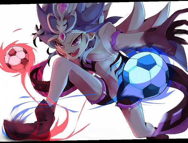 Tags: Anime, Pixiv Id 1137017, Level-5, Inazuma Eleven, Inazuma Eleven GO, Inazuma Eleven GO Chrono Stone, Beta (Inazuma Eleven GO), Keshin Armed, Pixiv, Fanart, Fanart From Pixiv