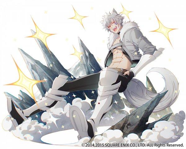 Tags: Anime, Shirotaka, SQUARE ENIX, Dungeon ni Deai wo Motomeru no wa Machigatteiru no Darou ka, Kai-ri-sei Million Arthur, Bete Loga, Tumblr, Official Art
