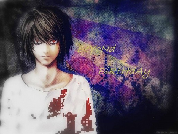 Tags: Anime, DEATH NOTE, Beyond Birthday, Artist Request