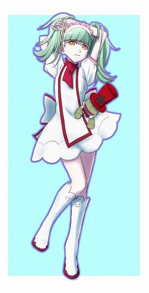 Tags: Anime, Amawa Kazuhiro, Kirakira☆Precure a la Mode, Bibury (Precure), Harukaze Doremi (Cosplay), Pixiv, Fanart, Fanart From Pixiv