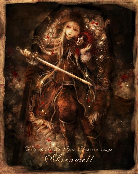 Tags: Anime, 317 / Miiina, Red Riding Hood, Big Bad Wolf, Coffin, Pixiv, Original