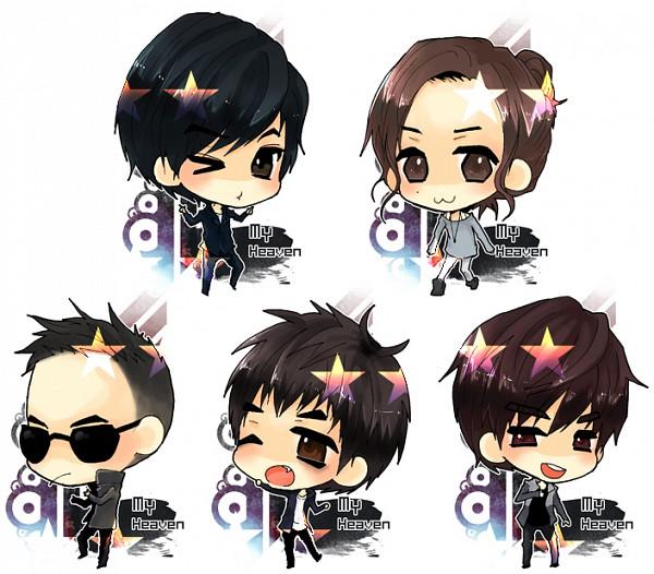 Tags: Anime, Seungri, G-dragon, Daesung, Taeyang, T.O.P, K-pop, Big Bang