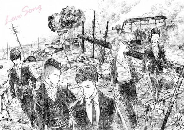Tags: Anime, Sunu-ku, Seungri, G-dragon, Daesung, Taeyang, T.O.P, Love Song, K-pop, Big Bang