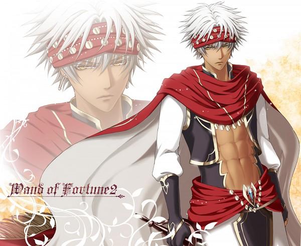 Tags: Anime, Maron (Artist), Wand of Fortune, Bilal Asad Ithnan Faranbald, Coin (Fashion)