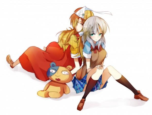 Tags: Anime, Sunyuqian, Binbougami Ga!, Kumagai (Binbougami Ga!), Binboda Momiji, Sakura Ichiko, Pixiv, Fanart, Fanart From Pixiv, Good Luck Girl!