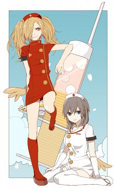 Tags: Anime, Pixiv Id 606601, Binbougami Ga!, Sakura Ichiko, Binboda Momiji, Fanart, Fanart From Pixiv, Pixiv, Good Luck Girl!