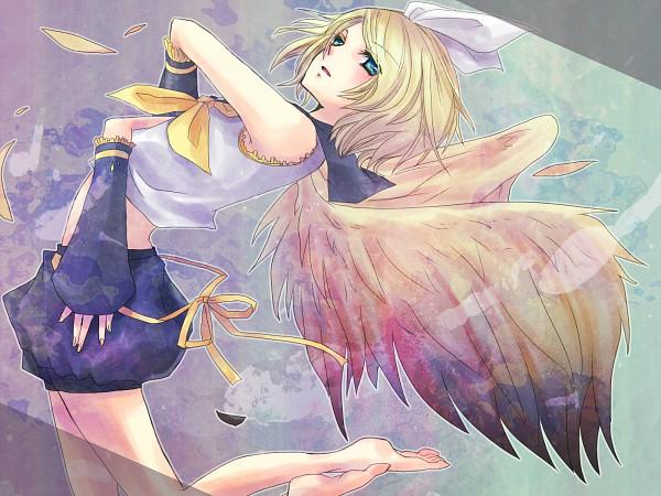 Tags: Anime, Tonoshiro, VOCALOID, Kagamine Rin, Bird of Paradise (VOCALOID), Pixiv