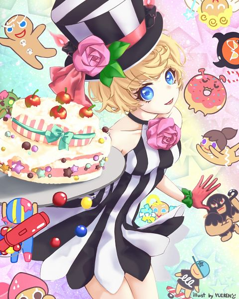 Tags: Anime, Yurien, Cookie Run: OvenBreak, Cookie Run, GingerBright, Gumball Cookie, Skater Cookie, GingerBrave, Birthday Cake Cookie (Afternoon Tea), Zombie Cookie, Devil Cookie, Birthday Cake Cookie, Cheerleader Cookie
