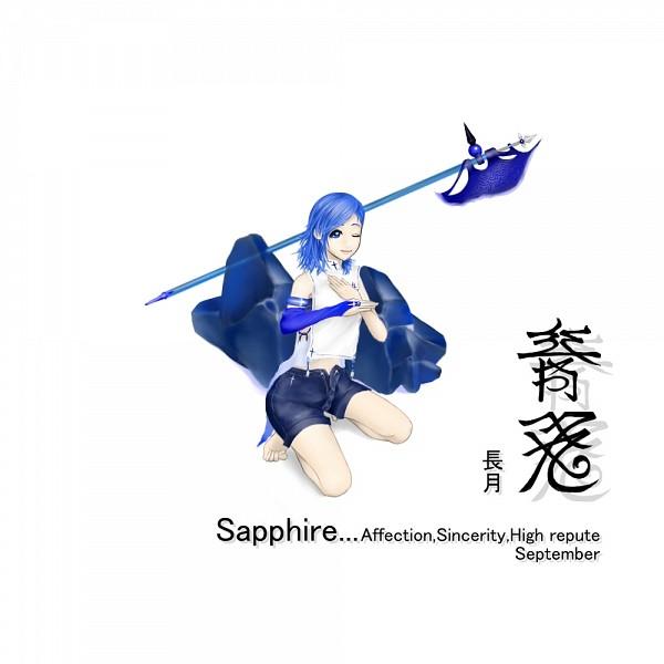 Tags: Anime, Pixiv Id 194367, Birthstone, Sapphire, Pixiv