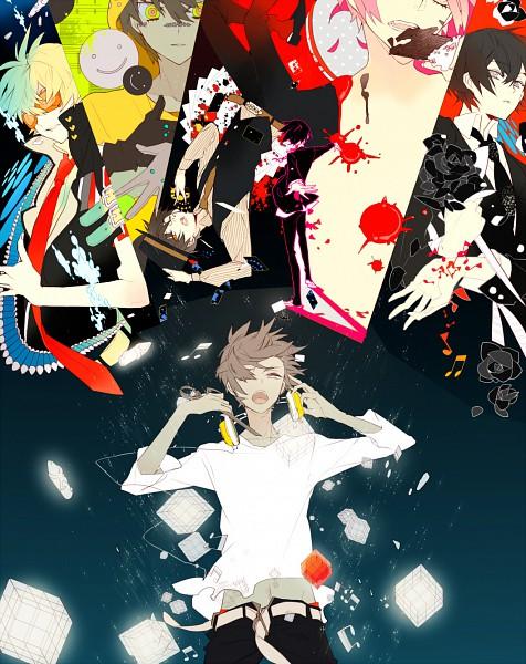 Tags: Anime, Suou, Bis, Poker Face, Mosaic Role, Nico Nico Douga, Bokura no 16bit Warz, Nico Nico Singer, Kusaregedou to Chocolate, Song-Over, Pixiv, BadBye, Matryoshka