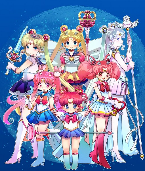 Tags: Anime, Mammypoko, Bishoujo Senshi Sailor Moon, Sailor Moon (Character), Tsukino Kousagi, Chibiusa, Sailor Cosmos, Tsukino Usagi, Sailor Chibi Chibi Moon, Chibi Chibi, Sailor Chibi Moon, Eternal Tiare, Eternal Moon Article, Pretty Guardian Sailor Moon