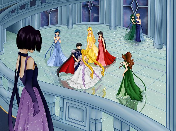 Tags: Anime, Nagoyamonkey, Bishoujo Senshi Sailor Moon, Chiba Mamoru, Princess Mercury, Tenou Haruka, Princess Uranus, Kino Makoto, Mizuno Ami, Princess Venus, Aino Minako, Prince Endymion, Princess Serenity, Pretty Guardian Sailor Moon
