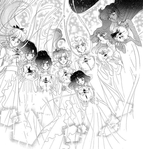 Tags: Anime, Takeuchi Naoko, Bishoujo Senshi Sailor Moon, Princess Mercury, Sailor Neptune, Princess Venus, Kino Makoto, Sailor Venus, Tenou Haruka, Princess Saturn, Princess Neptune, Aino Minako, Mizuno Ami, Pretty Guardian Sailor Moon