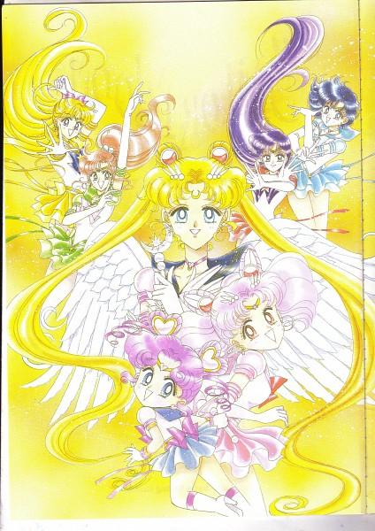 Tags: Anime, Takeuchi Naoko, Bishoujo Senshi Sailor Moon, Sailor Mercury, Kino Makoto, Mizuno Ami, Sailor Mars, Aino Minako, Tsukino Usagi, Sailor Jupiter, Sailor Venus, Sailor Chibi Moon, Sailor Moon (Character), Pretty Guardian Sailor Moon