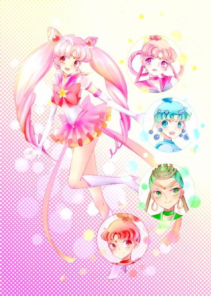 Tags: Anime, Torao (Torakmn), Bishoujo Senshi Sailor Moon, Sailor Pallas, Cere Cere, Sailor Ceres, Palla Palla, Sailor Vesta, Ves Ves, Sailor Chibi Moon, Sailor Juno, Jun Jun, Chibiusa, Pretty Guardian Sailor Moon