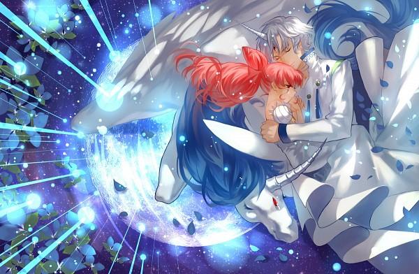Tags: Anime, Joseph Lee, Bishoujo Senshi Sailor Moon, Chibiusa, Princess Usagi Small Lady Serenity, Helios, Pegasus (Sailor Moon), Alicorn, Pegasus, Pixiv, Fanart, Fanart From Pixiv, Pretty Guardian Sailor Moon