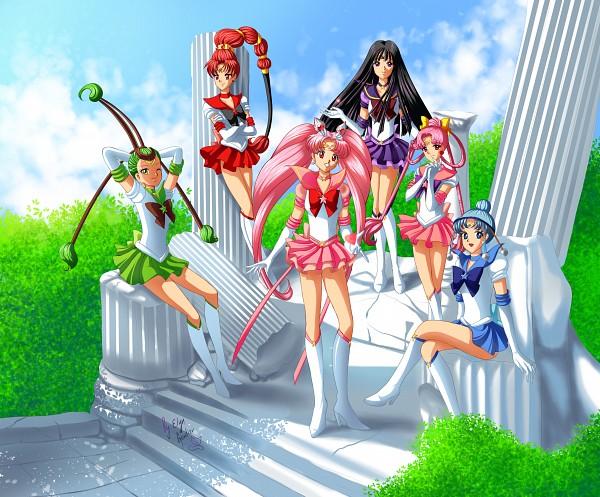 Tags: Anime, ElynGontier, Bishoujo Senshi Sailor Moon, Sailor Chibi Moon, Sailor Pallas, Cere Cere, Tomoe Hotaru, Chibiusa, Sailor Ceres, Sailor Vesta, Palla Palla, Ves Ves, Sailor Saturn, Pretty Guardian Sailor Moon