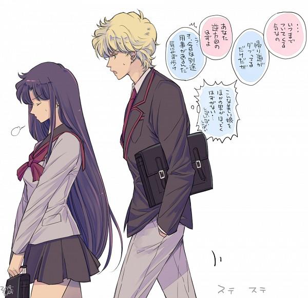 Tags: Anime, Saki Kunkatan, Bishoujo Senshi Sailor Moon, Hino Rei, Jadeite, Pixiv, Fanart From Pixiv, Translation Request, Fanart, Pretty Guardian Sailor Moon