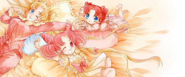 Tags: Anime, Pixiv Id 1155216, Bishoujo Senshi Sailor Moon, Chibi Chibi, Chibiusa, Tsukino Usagi, Facebook Cover, Fanart From Pixiv, Pixiv, Fanart, Pretty Guardian Sailor Moon