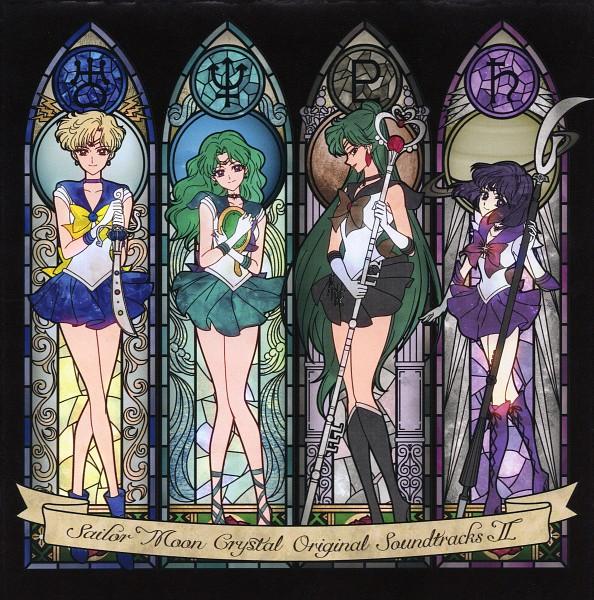 Tags: Anime, Takahashi Akira, Toei Animation, Bishoujo Senshi Sailor Moon, Sailor Uranus, Tenou Haruka, Sailor Saturn, Sailor Pluto, Meiou Setsuna, Sailor Neptune, Kaiou Michiru, Tomoe Hotaru, Garnet Rod, Pretty Guardian Sailor Moon