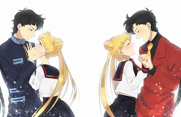 Tags: Anime, Petagon, Bishoujo Senshi Sailor Moon, Seiya Kou, Tsukino Usagi, Wiping Face, Wiping Tears, Fanart, Pixiv, Fanart From Pixiv, Pretty Guardian Sailor Moon