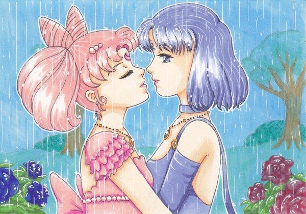 Tags: Anime, Bishoujo Senshi Sailor Moon, Princess Saturn, Princess Usagi Small Lady Serenity, Tomoe Hotaru, Chibiusa, Fanart From DeviantART, Fanart, deviantART, Pretty Guardian Sailor Moon