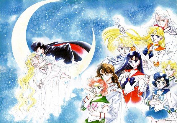 Tags: Anime, Takeuchi Naoko, Bishoujo Senshi Sailor Moon, Sailor Mars, Mizuno Ami, Jadeite, Sailor Venus, Chiba Mamoru, Sailor Jupiter, Zoisite, Sailor Moon (Character), Kino Makoto, Princess Serenity, Pretty Guardian Sailor Moon