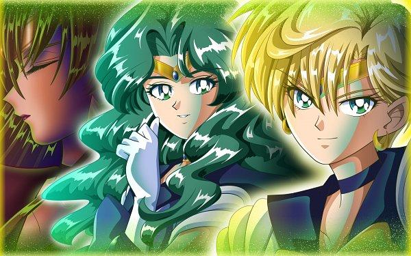 Tags: Anime, Pixiv Id 4682741, Bishoujo Senshi Sailor Moon, Meiou Setsuna, Tenou Haruka, Kaiou Michiru, Sailor Pluto, Sailor Neptune, Sailor Uranus, Wallpaper, Fanart, Fanart From Pixiv, Pixiv, Pretty Guardian Sailor Moon