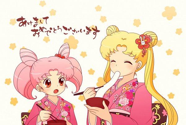 Tags: Anime, Otokokumino, Bishoujo Senshi Sailor Moon, Chibiusa, Tsukino Usagi, Pretty Guardian Sailor Moon