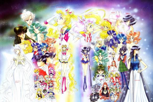 Tags: Anime, Takeuchi Naoko, Bishoujo Senshi Sailor Moon, Meiou Setsuna, Sailor Mercury, Mistress 9, Ptilol, Sailor Chibi Moon, Sailor Jupiter, Chiba Mamoru, Kaiou Michiru, Sailor Uranus, Tuxedo Kamen, Pretty Guardian Sailor Moon