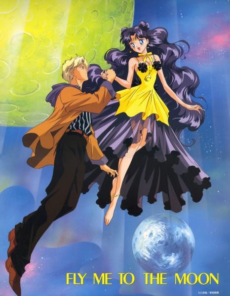 Tags: Anime, Tadano Kazuko, Bishoujo Senshi Sailor Moon, Ozora Kakeru, Human Luna, Luna (Sailor Moon), Pretty Guardian Sailor Moon