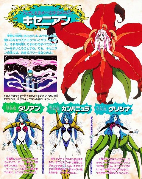 Tags: Anime, Bishoujo Senshi Sailor Moon, Fiore, Official Art, Pretty Guardian Sailor Moon