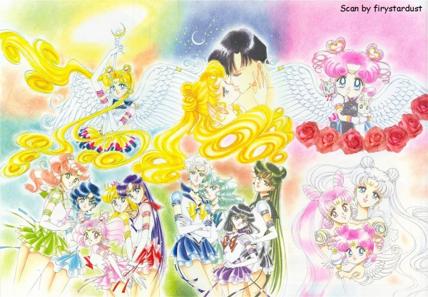 Tags: Anime, Takeuchi Naoko, Bishoujo Senshi Sailor Moon, Tenou Haruka, Chibiusa, Princess Serenity, Princess Usagi Small Lady Serenity, Kaiou Michiru, Sailor Mars, Mizuno Ami, Sailor Chibi Chibi Moon, Luna (Sailor Moon), Diana (Sailor Moon), Pretty Guardian Sailor Moon