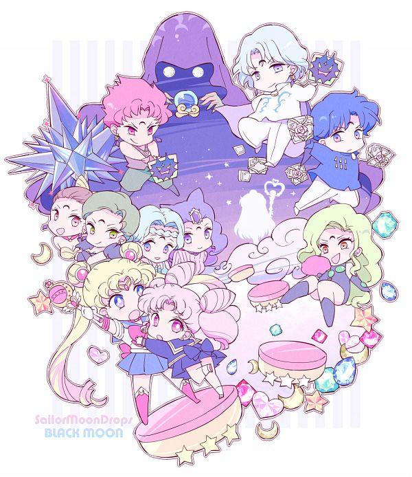 Tags: Anime, Saki Kunkatan, Bishoujo Senshi Sailor Moon, Ayakashi Beruche, Sailor Moon (Character), Esmeraude, Ayakashi Cooan, Meiou Setsuna, Prince Diamond, Rubeus, Death Phantom, Sailor Pluto, Ayakashi Petz, Pretty Guardian Sailor Moon